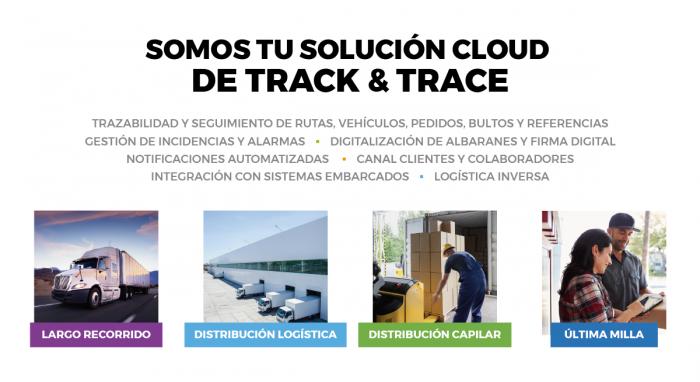 Somos tu solución cloud de track & trace en Logistics & Distribution 2018