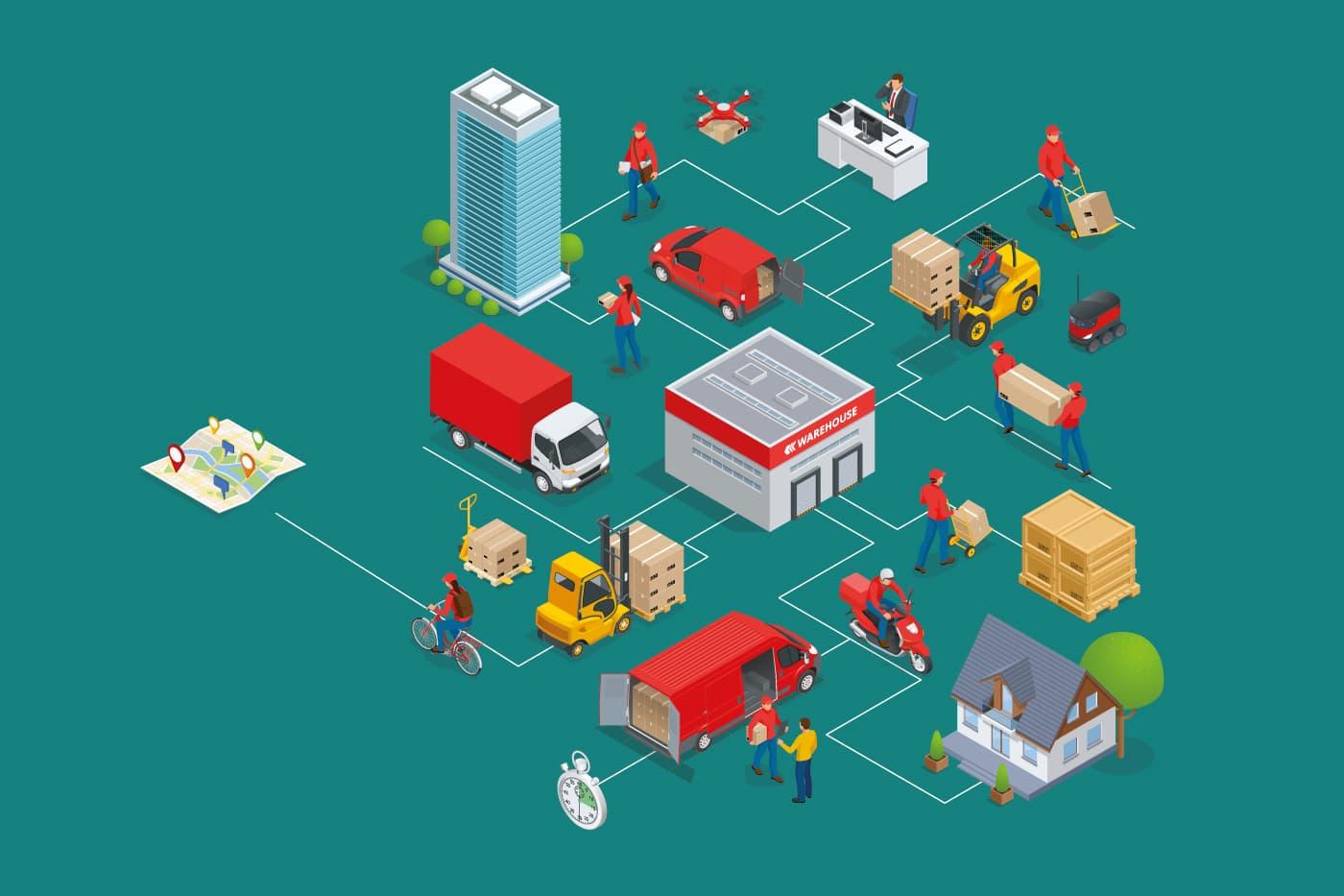 Tendencias en logística 2021